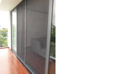 Cửa lưới chống muỗi chuyên thi công cho chung cư