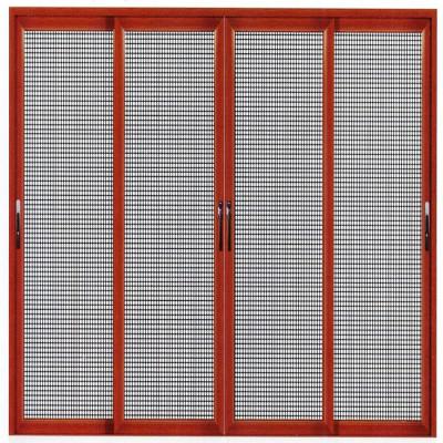 Cửa lưới chống muỗi thông minh nhiều cánh mở quay
